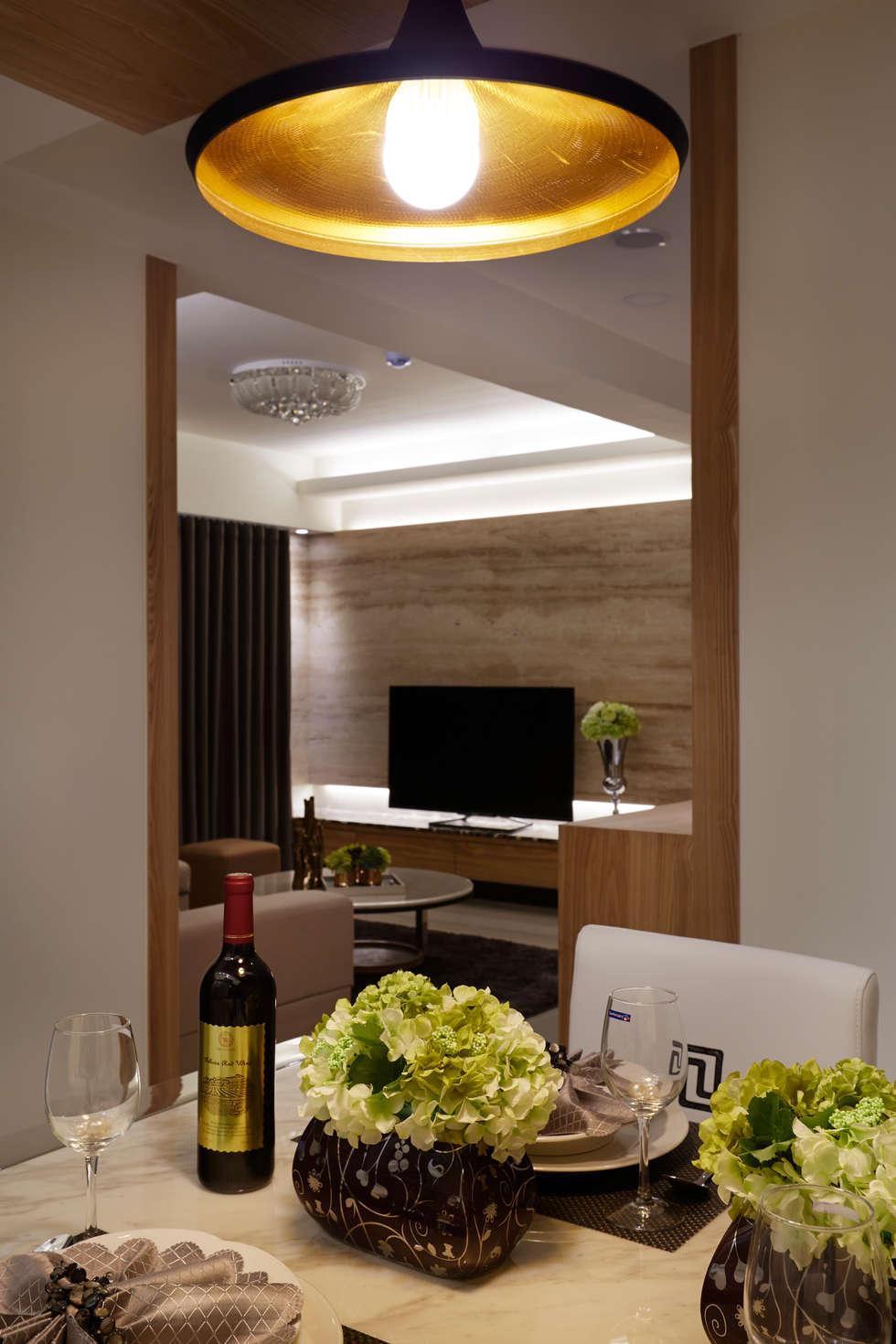 將建材複雜性降到最低:  飯店 by 雅和室內設計