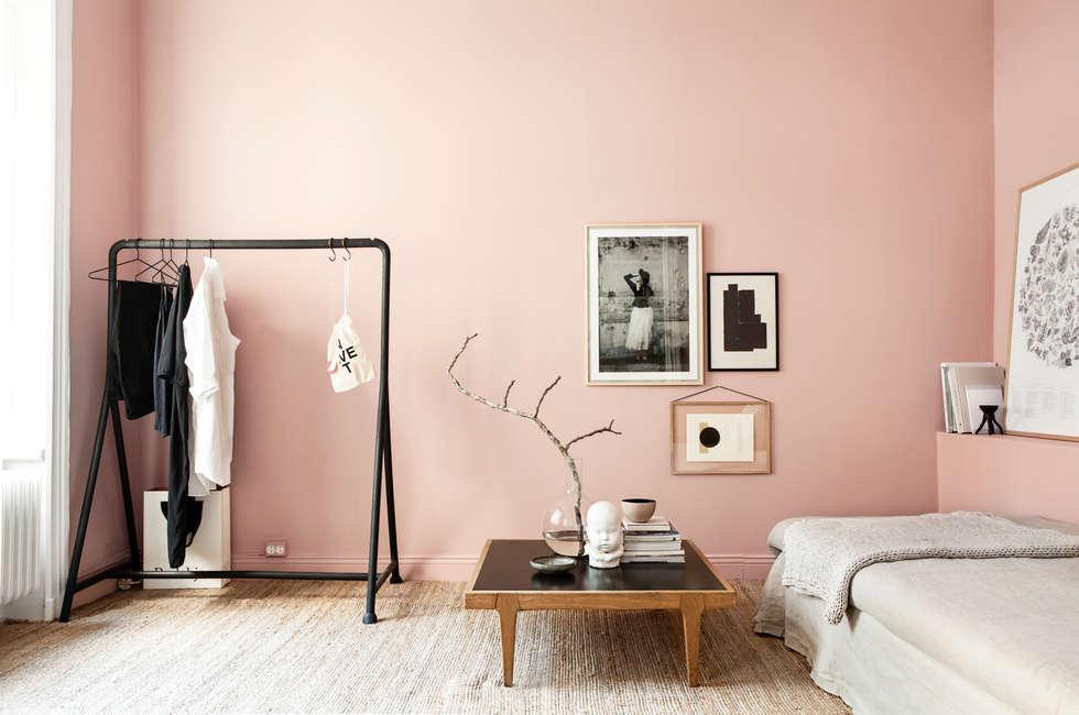 Trendfarbe hortensie: moderne schlafzimmer von schöner wohnen-farbe ...