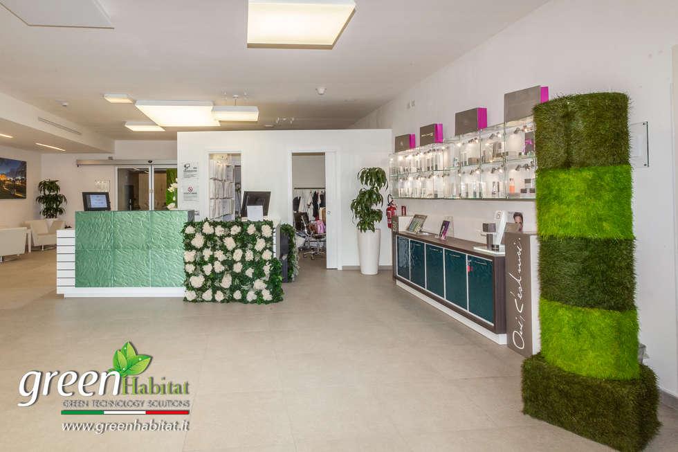 Arredamento spa: Negozi & Locali commerciali in stile  di Green Habitat s.r.l.
