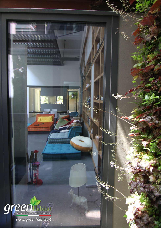 SOGGIORNO CASA MODERNA: Sala da pranzo in stile in stile Moderno di Green Habitat s.r.l.