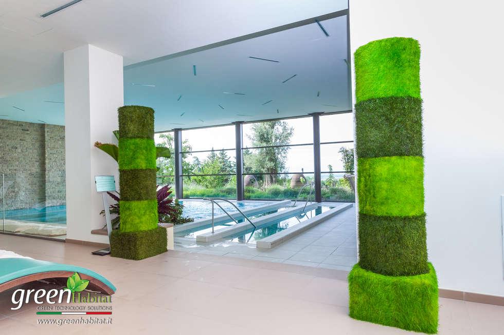 Arredamento spa: Hotel in stile  di Green Habitat s.r.l.