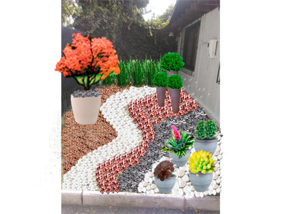 Fotos de decora o design de interiores e remodela es - Figuras jardin piedra ...