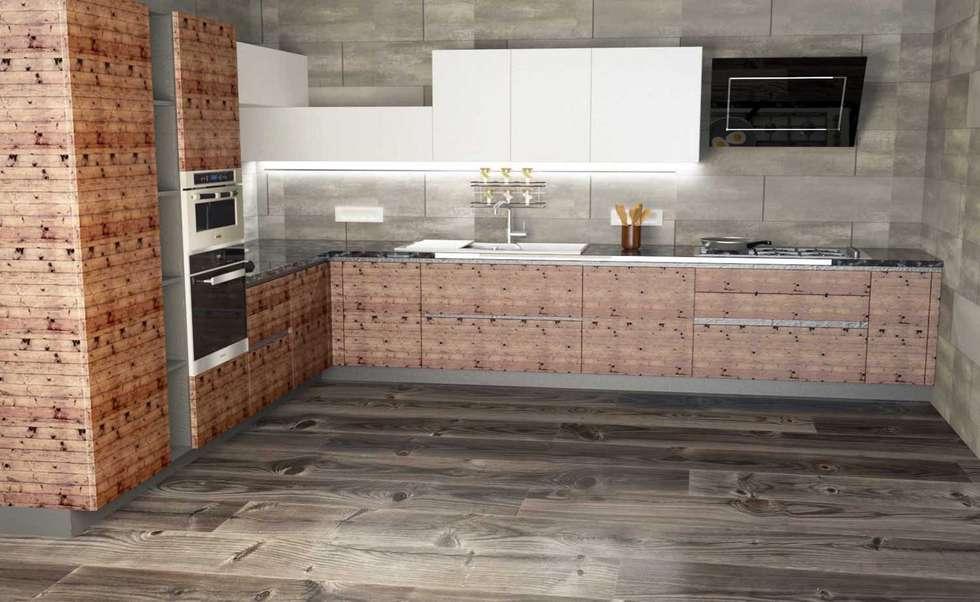 Cucina: Cucina in stile in stile Moderno di 2mgdesignsolution