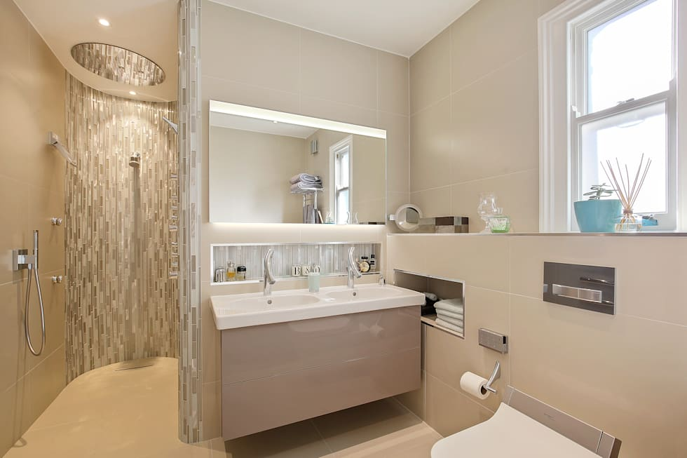Case Study: Richmond Ensuite, TW9: modern Bathroom by BathroomsByDesign Retail Ltd