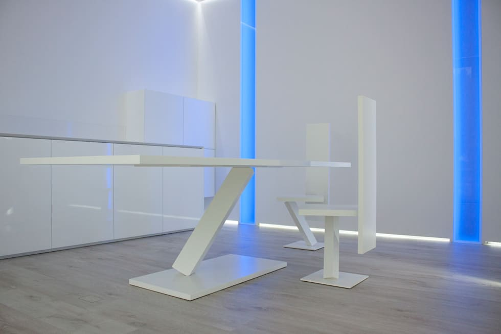 esposizione giemmecontract design lab: Negozi & Locali commerciali in stile  di Giemmecontract srl.