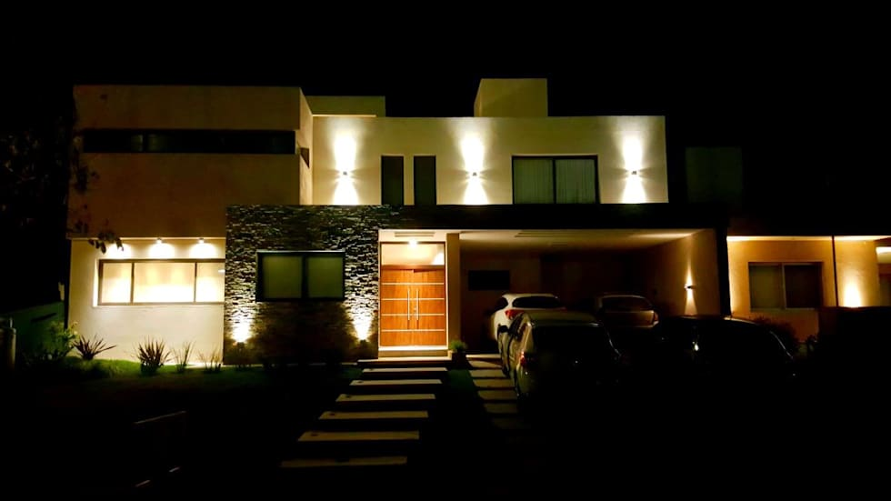 VIVIENDA EG: Casas unifamiliares de estilo  por BVS+GN ARQUITECTURA