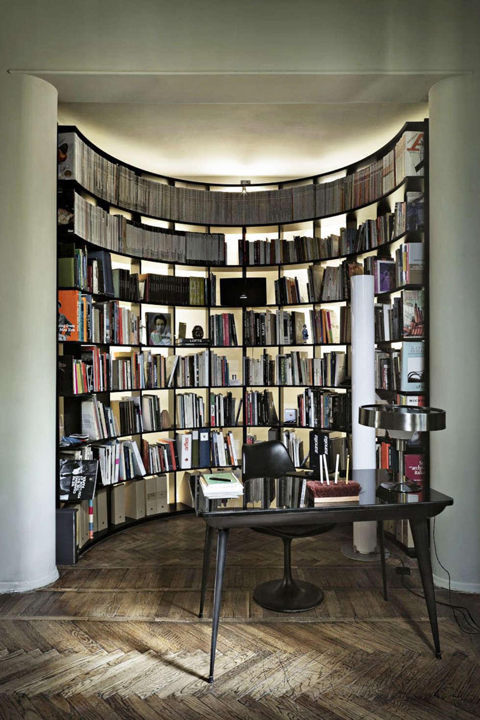 Paolo Frello Project: Soggiorno in stile in stile Moderno di PAOLO FRELLO & PARTNERS