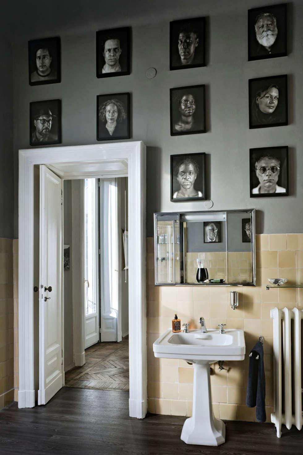 Paolo Frello Project: Bagno in stile in stile Moderno di PAOLO FRELLO & PARTNERS