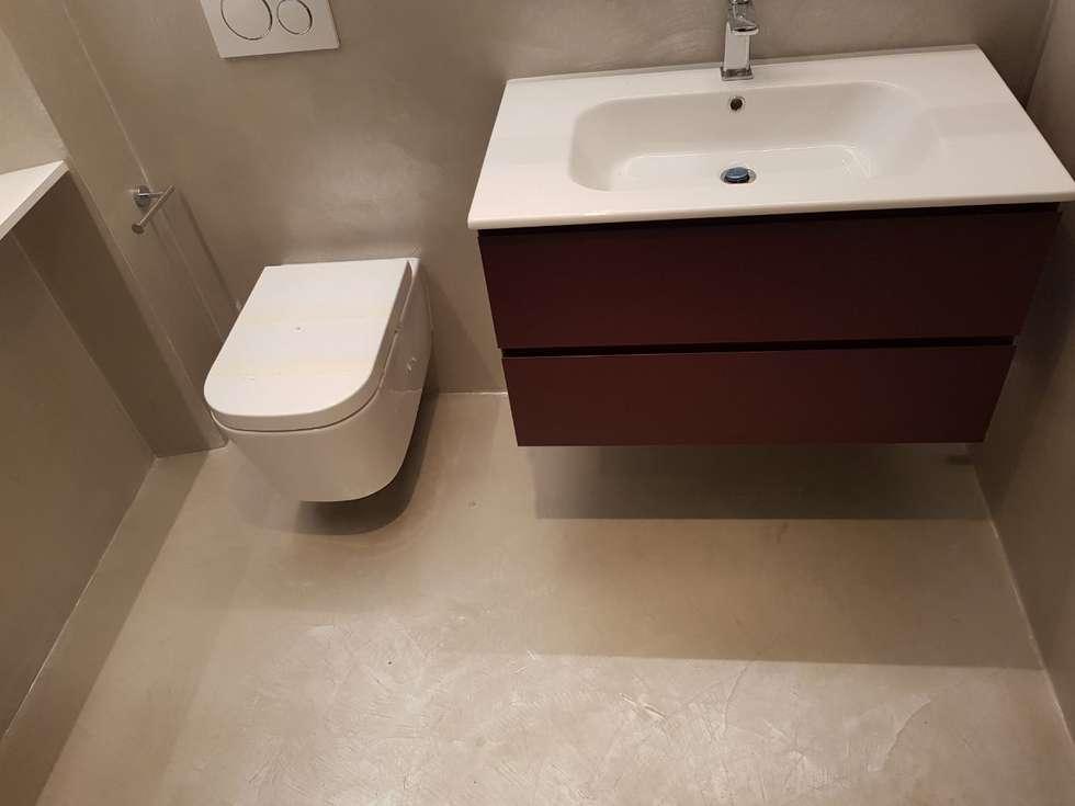 Idee arredamento casa interior design homify - Resina pavimento bagno ...