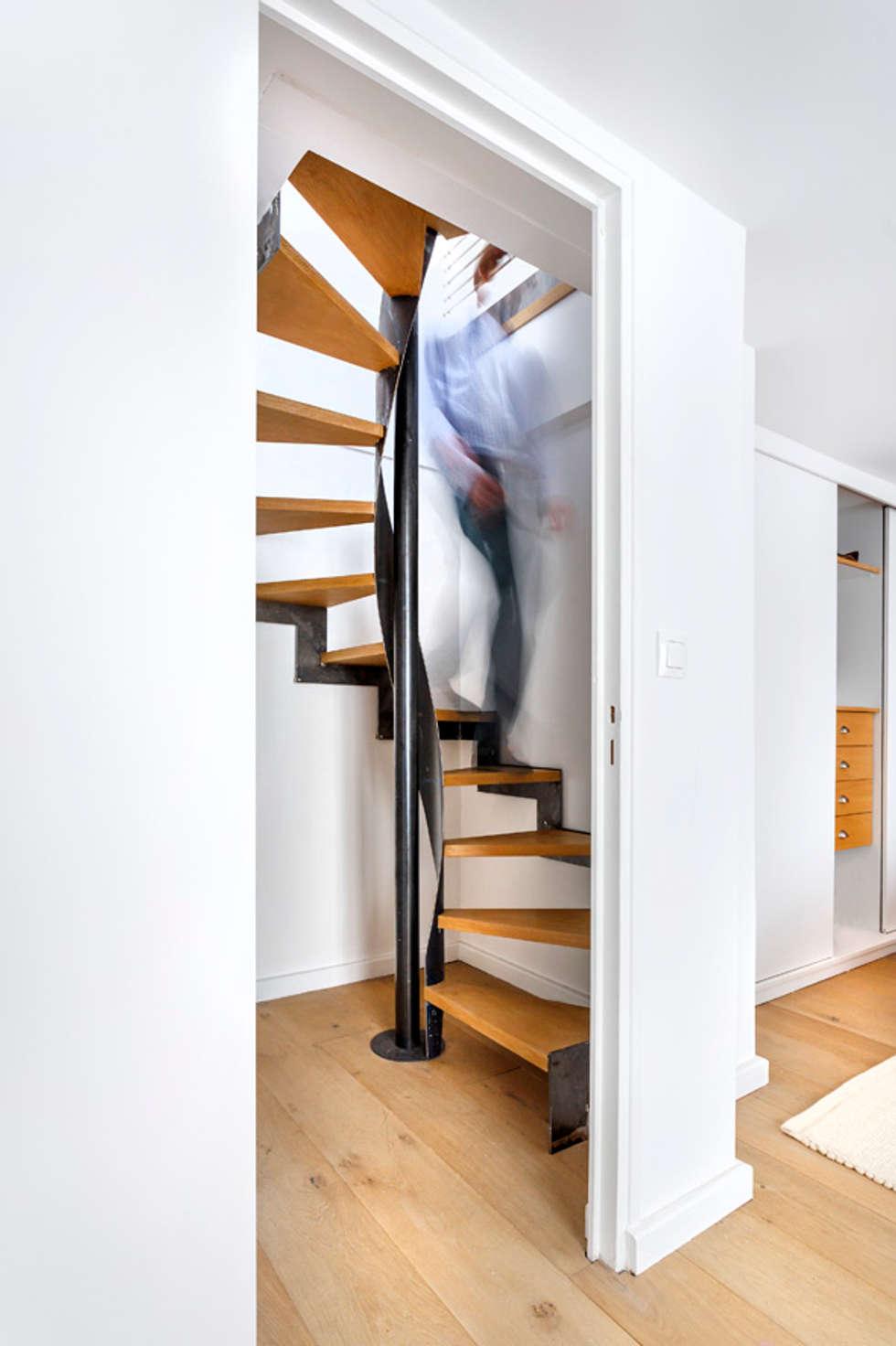 Conception escalier: Escalier de style  par Architectures²