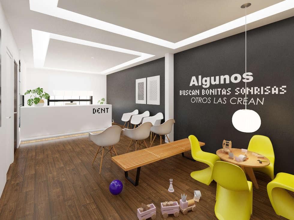 Proyecto consultorio dental cl nicas consultorios m dicos de estilo por mg estudio de - Proyecto clinica dental ...