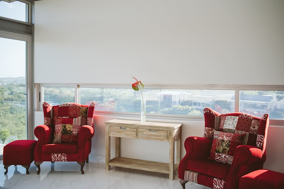 House BellaVida, Salt Rock, South Africa  : modern Bedroom by Hugo Hamity Architects
