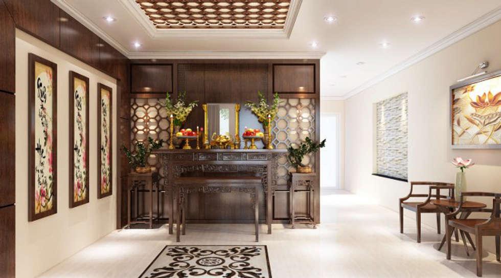 Hình ảnh 3D thiết kế nội thất :  Nhà gia đình by Công ty TNHH Xây Dựng TM – DV Song Phát