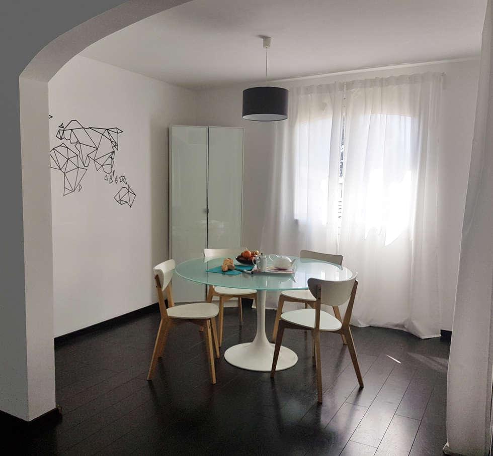 Espace repas: Salle à manger de style de style Scandinave par CS Architecture d'intérieur