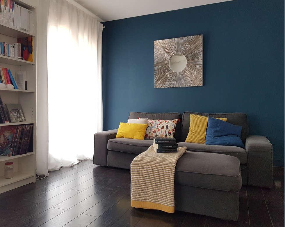 Aménagement du salon: Salon de style de style Scandinave par CS Architecture d'intérieur