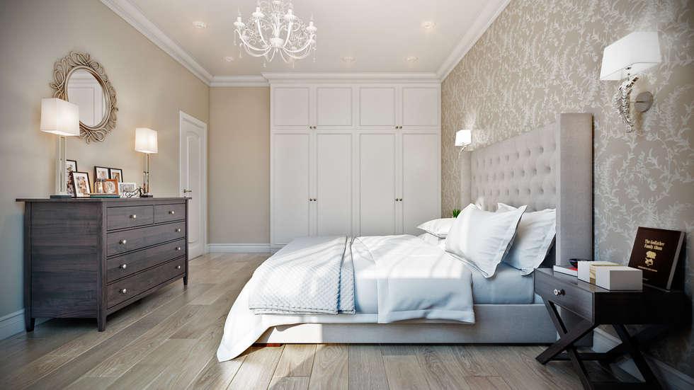 Городские традиции: Спальни в . Автор – CO:interior