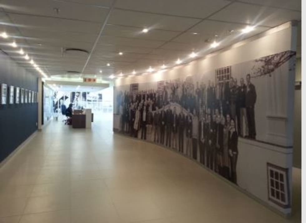 Corridor & hallway by Custom Art Framing (Pty) ltd