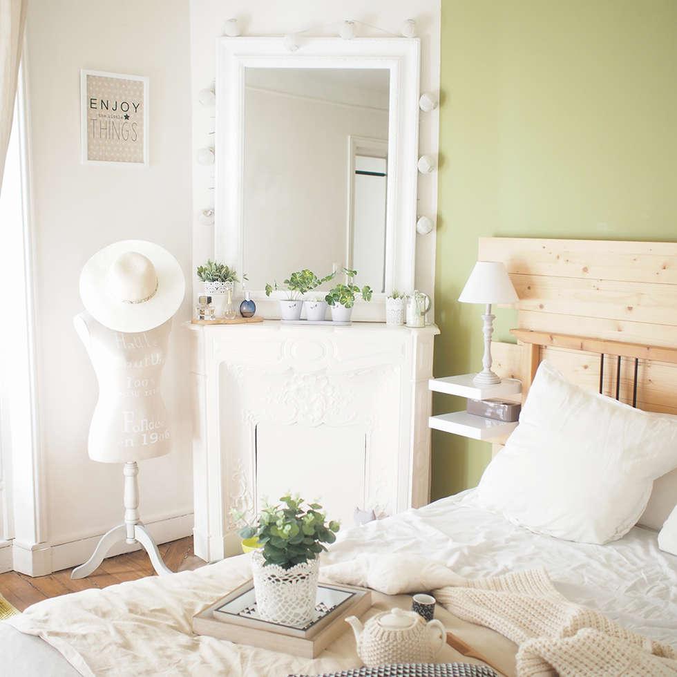 Chambre: Chambre de style de style Scandinave par B.Claire.full Design
