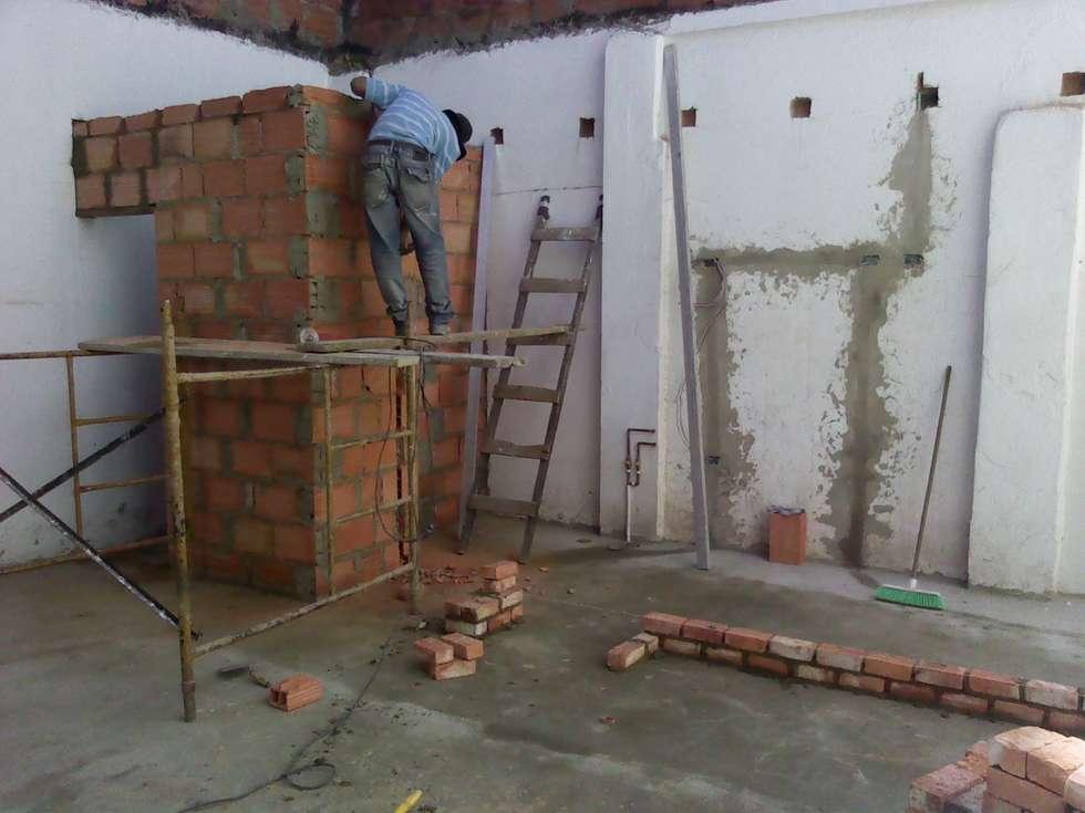 remodelacion: Espacios comerciales de estilo  por Omar Plazas Empresa de  Diseño Interior, remodelacion, Cocinas integrales, Decoración