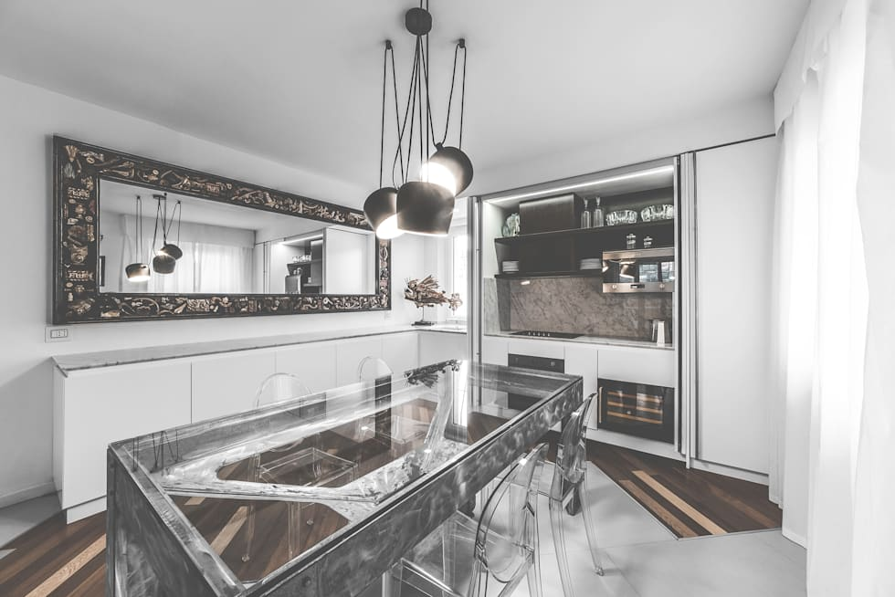 eclectic Kitchen by MODO Architettura