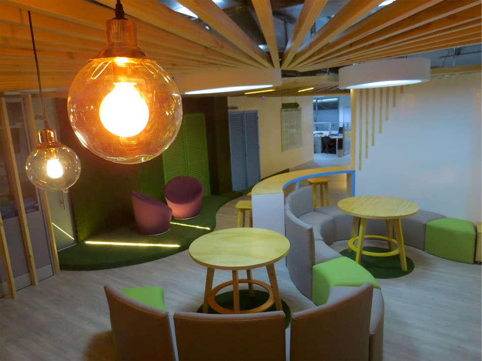 CAPACITACION : Oficinas y Tiendas de estilo  por Aluzina