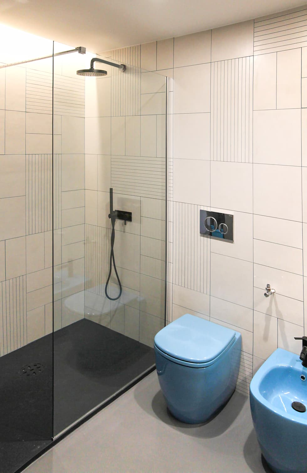 Area Doccia: Bagno in stile in stile Minimalista di GDArchitetture