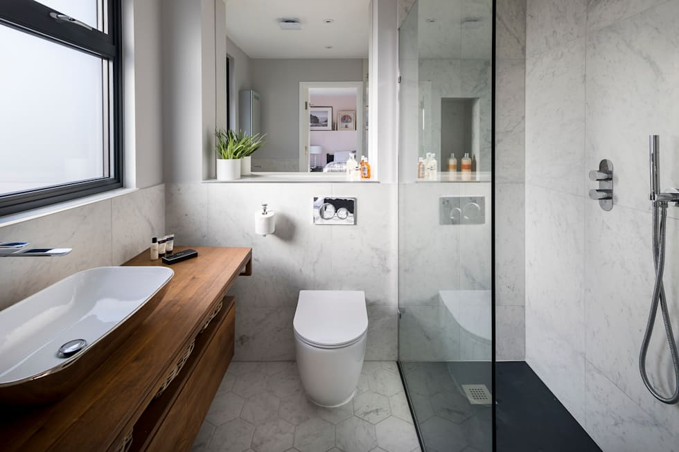 Tooting Whole House Renovation: classic Bathroom by Model Projects Ltd