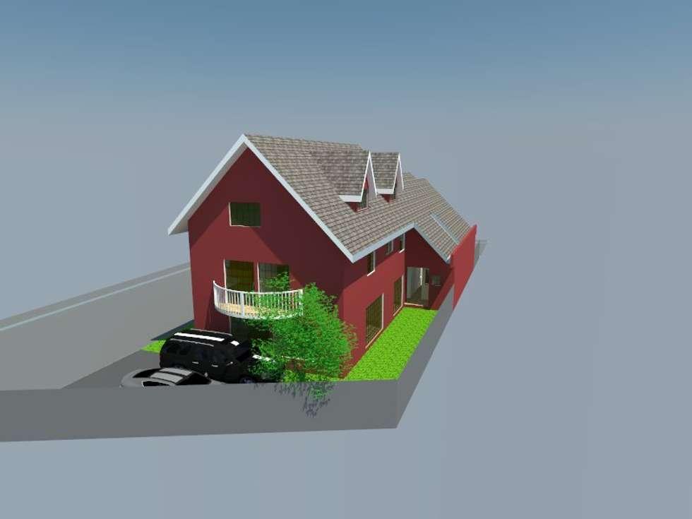 2: Casas de estilo moderno por OMD Arquitectos