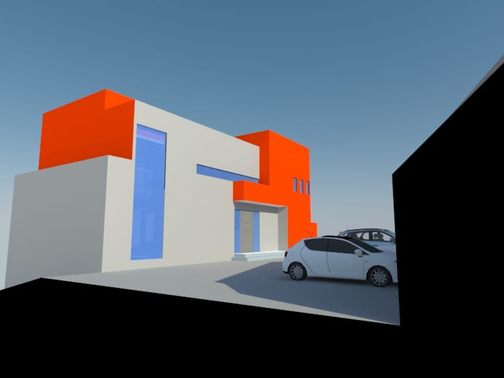 1: Casas de estilo minimalista por OMD Arquitectos