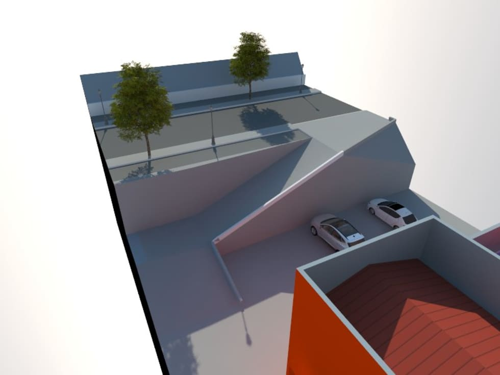 2: Casas de estilo minimalista por OMD Arquitectos