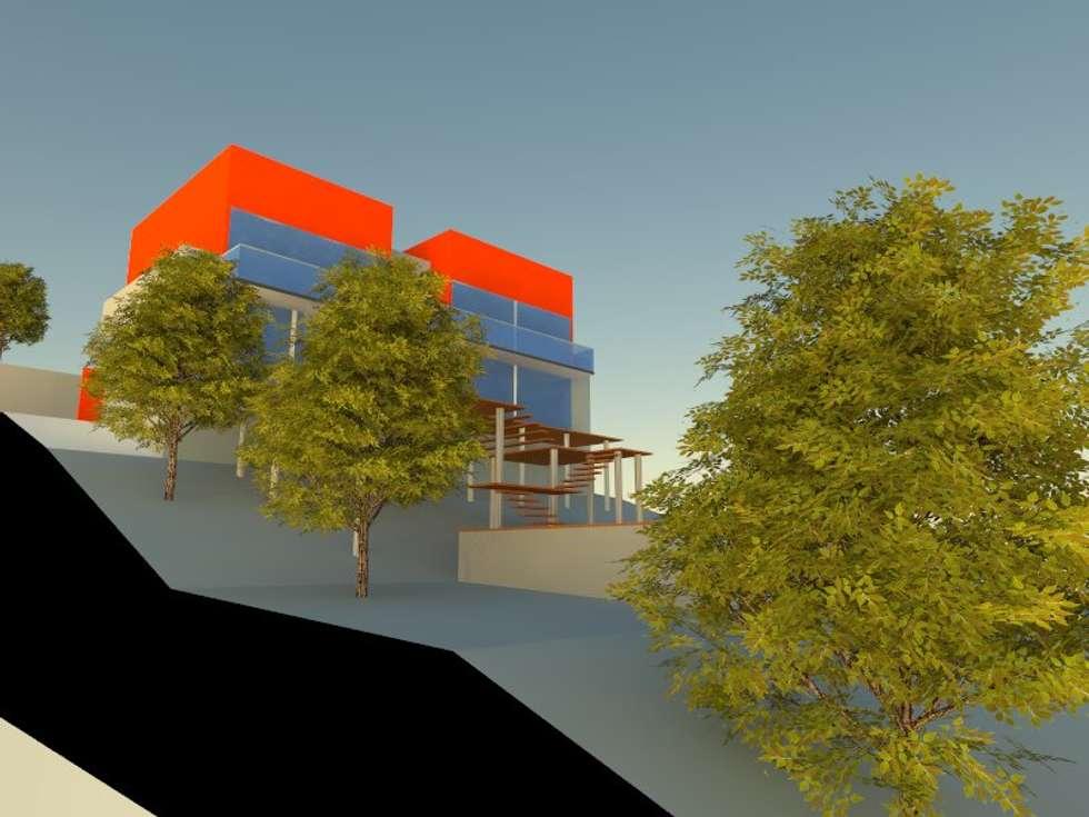 4: Casas de estilo minimalista por OMD Arquitectos
