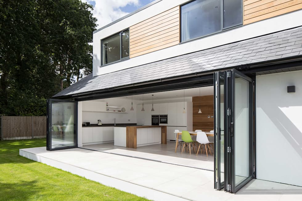 Quarry Road :  Doors by Footprint Architects Ltd