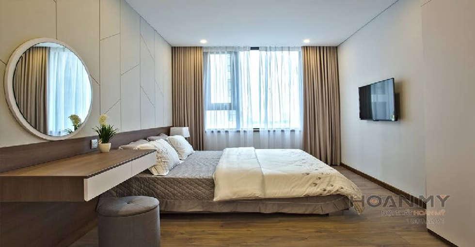 Nội thất phòng ngủ đơn giản:  Phòng ngủ by Thương hiệu Nội Thất Hoàn Mỹ