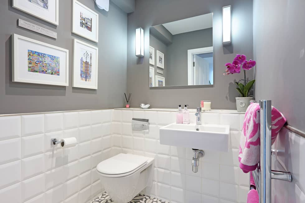 Richmond Family Home: minimalistic Bathroom by PAD ARCHITECTS