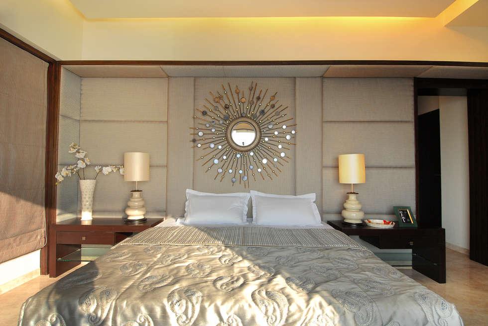 bedroom: modern Bedroom by ozone interior