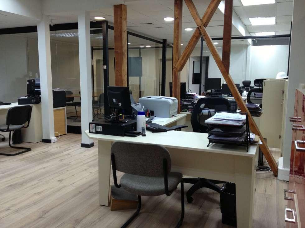 oficina comercial: Oficinas y Comercios de estilo  por IDEAfactory