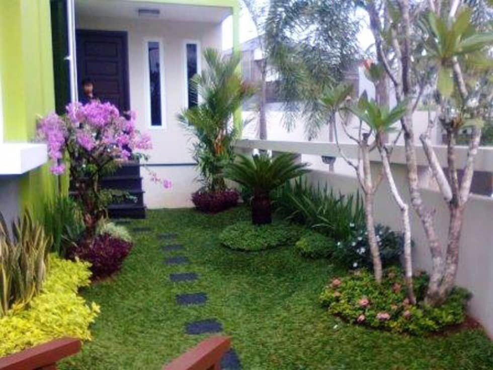 Jasa Tukang Taman:  Gedung perkantoran by Toko Taman Landscape (Jasa Tukang Taman)