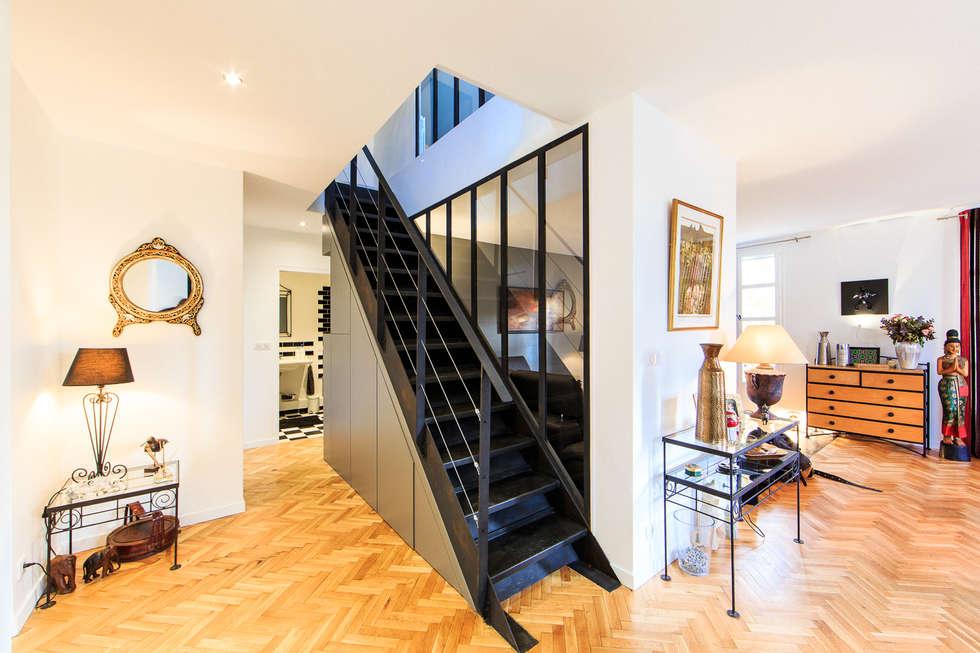 Id es de design d 39 int rieur et photos de r novation homify - Appartement en duplex abraham architects ...