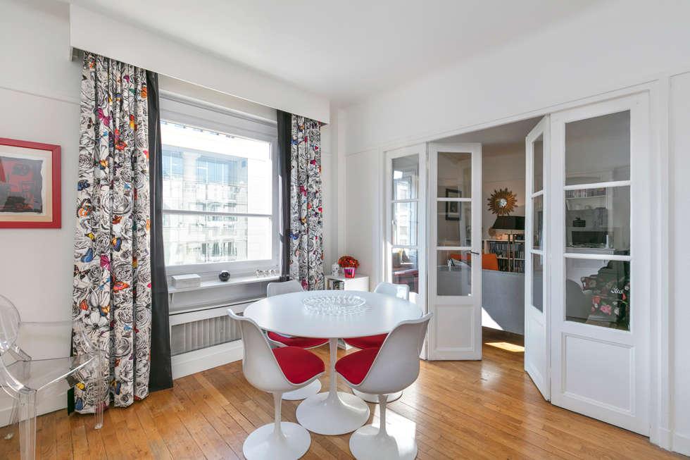 Une salle à manger classique et design salle à manger de style de style classique