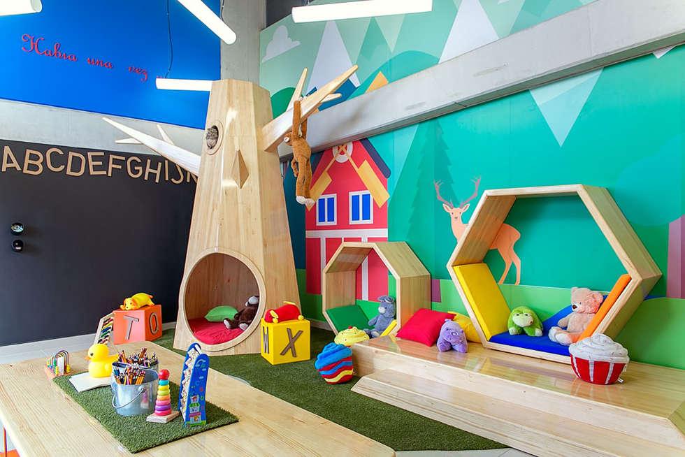 Zona infantil: Salas de estilo moderno por Maria Mentira Studio