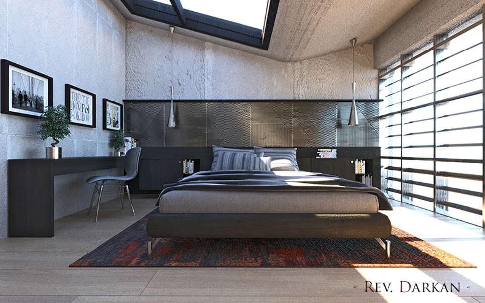 Camera da letto stile industriale awesome camere da letto moderne con tendenze interior design - Mobili stile industriale usati ...