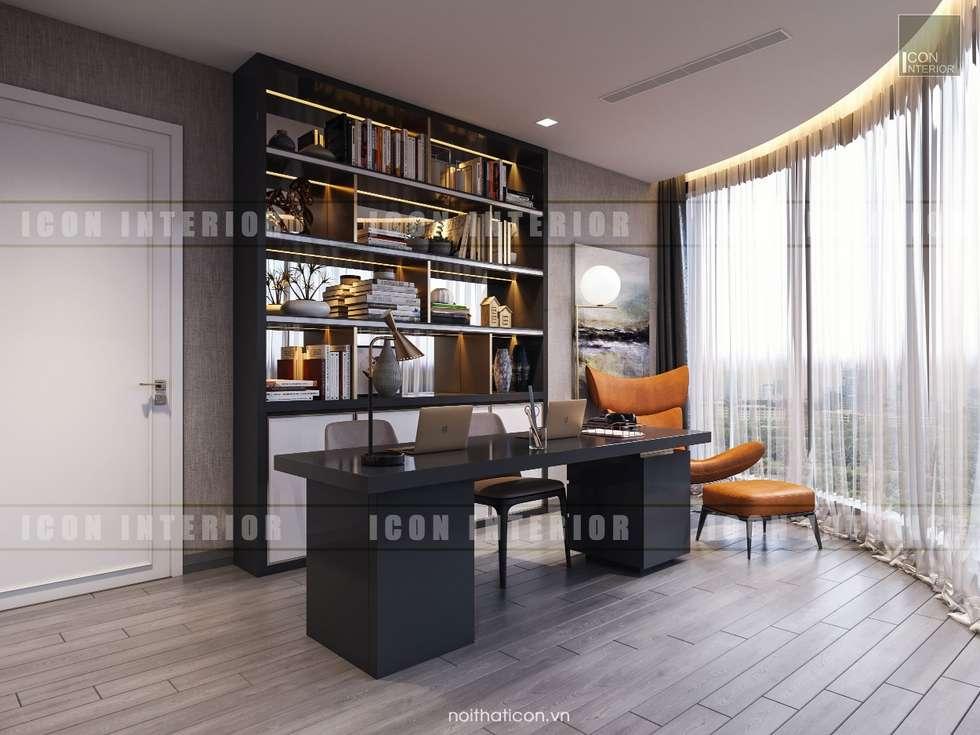 Bureau de style de style moderne par icon interior homify