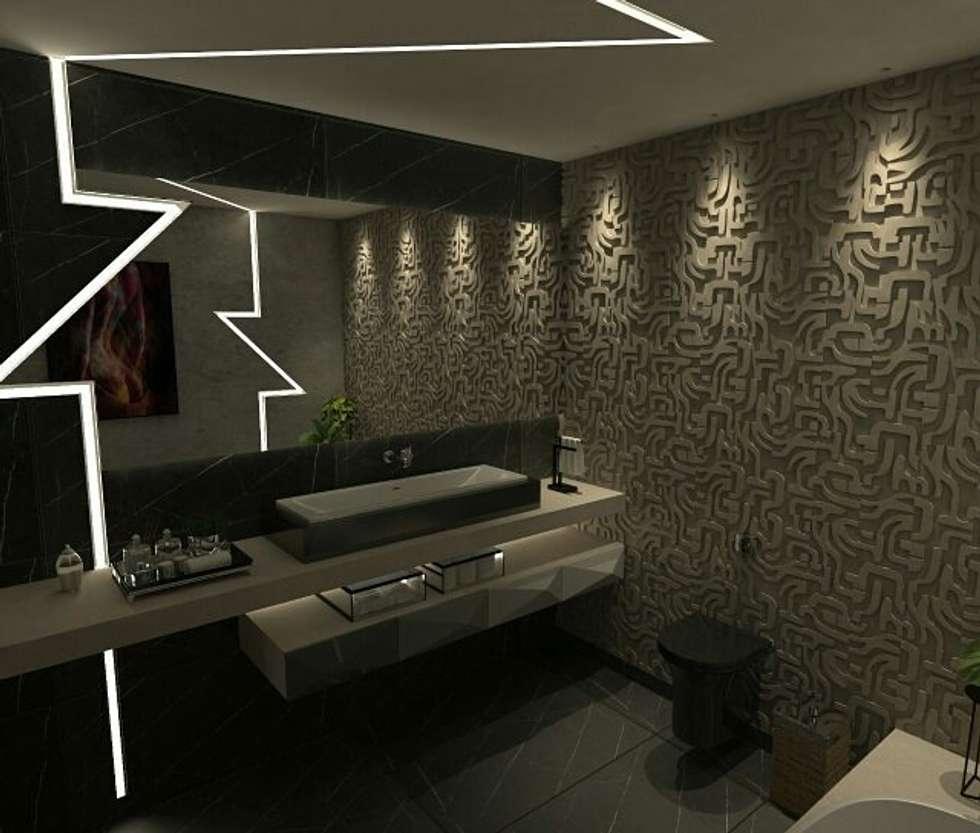 minimalistic Bathroom by A7 Arquitetura | Design