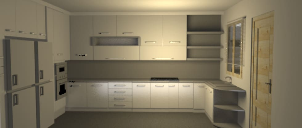 Cocina Minimalista: Muebles de cocinas de estilo  por Minimalistika.com