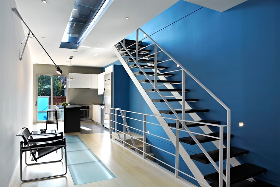 See Through House: Stairs By KUBE Architecture