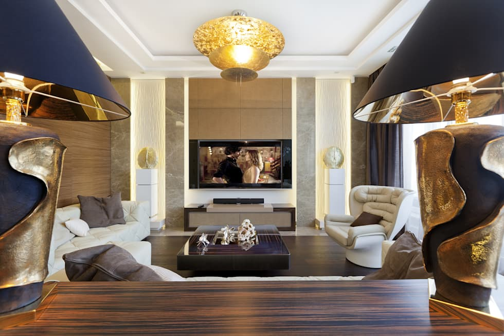 modern Living room by NG-STUDIO Interior Design