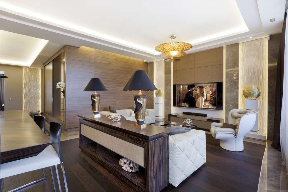 modern Living room by NG-STUDIO Interior Design