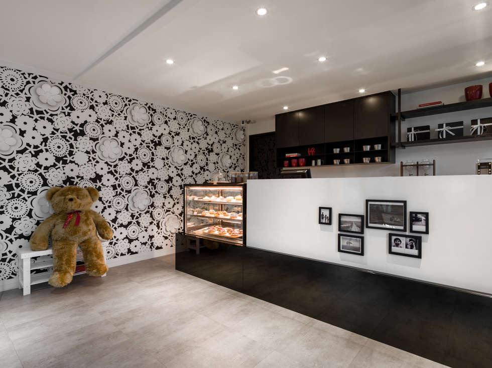 壁面造型:  餐廳 by 存果空間設計有限公司