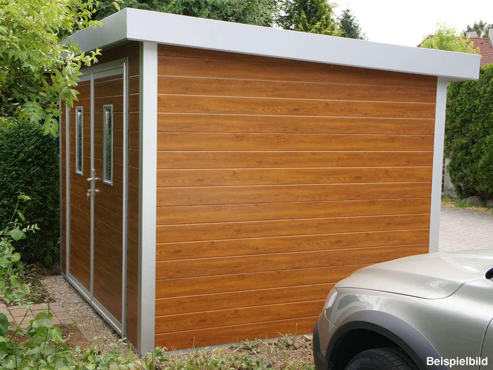 go iso hochwertiges gartenhaus isoliert 2 85 x 2 50 m gartenhaus von trapezblech gonschior. Black Bedroom Furniture Sets. Home Design Ideas