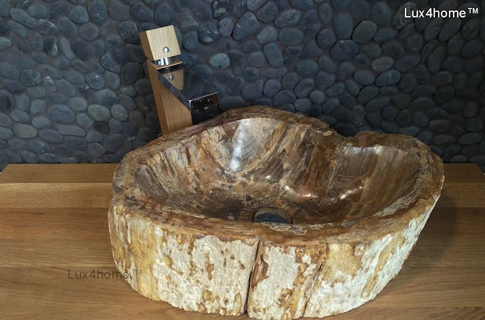rustic Bathroom by Lux4home™ Indonesia